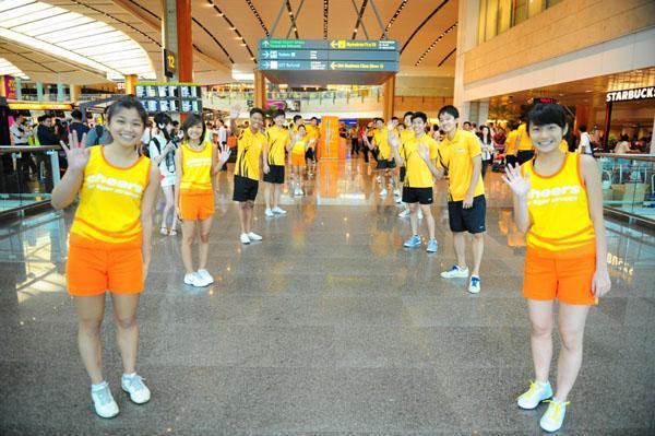 Hãng Tiger Airways chuyển tới ga Terminal 2 sân bay Changi