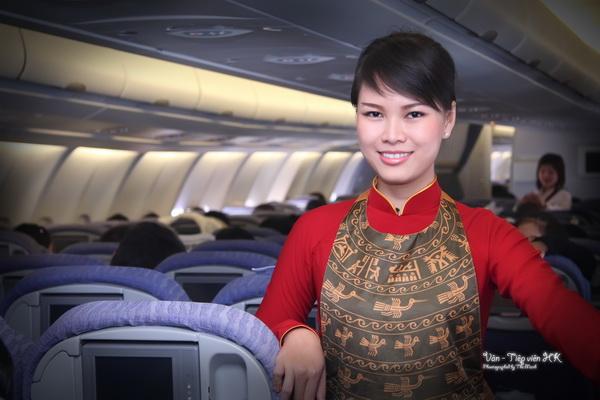 tiếp viên vietnam airlines