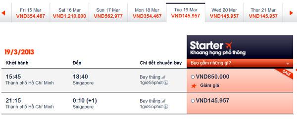 vé máy bay giá rẻ jetstar - vé rẻ đi Singapore