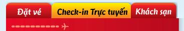 Hướng dẫn check-in trực tuyến VietJetAir