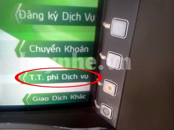 Hướng dẫn thanh toán vé máy bay qua ATM