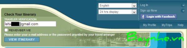 Cách kiểm tra vé máy bay vietnam airlines