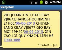 VietJetAir delay