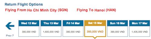 vietnam airline vé giá rẻ
