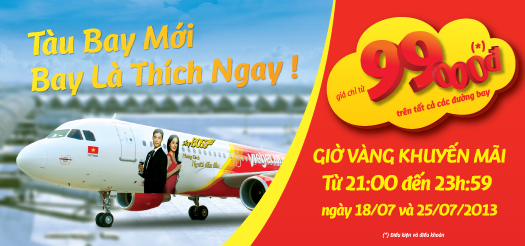 vé máy bay giá rẻ vietjetair - VietJetAir sắp có vé siêu rẻ