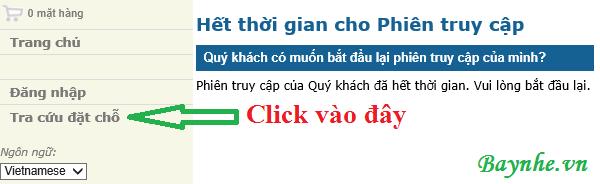 Xử lý các vấn đề gặp phải khi đặt vé Vietnam Airlines