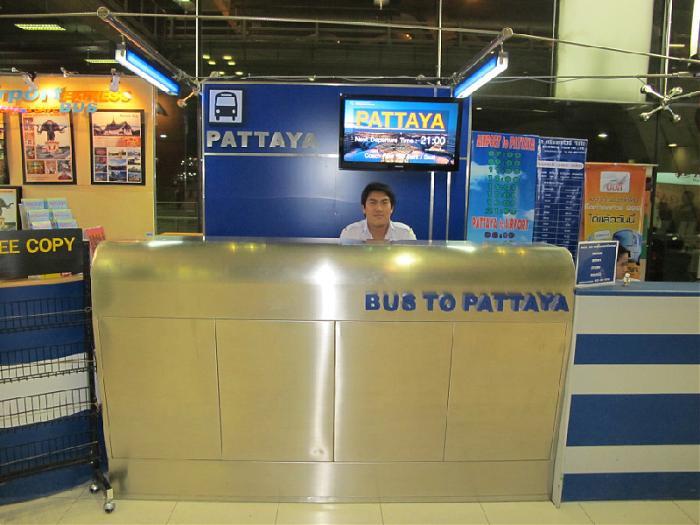 Cách từ sân bay Don Muang đi Pattaya