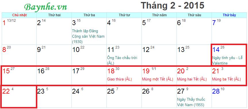 Lich nghi Tet 2015 Vietnam Airlines tung vé Tết giá cực tốt