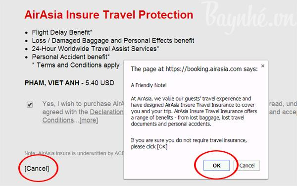 đặt vé máy bay giá rẻ - AirAsia tung vé giá rẻ đi Bangkok
