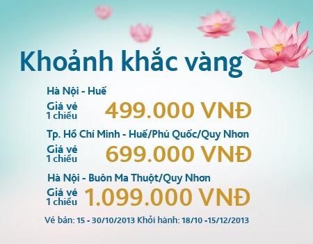 vé máy bay giá rẻ vietnam airlines - Vietnam Airlines bán vé giá rẻ