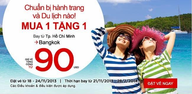 TigerAir siêu rẻ đi Singapore, AirAsia mua 2 trả tiền 1