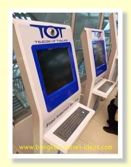 """Hướng dẫn """"bắt"""" wifi miễn phí ở sân bay Suvarnabhumi"""