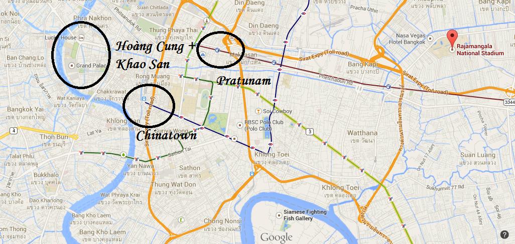 biểu tình bangkok
