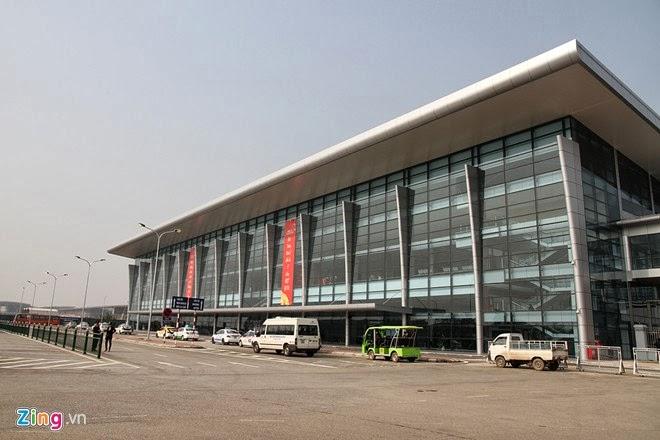 Thông báo chuyển vị trí quầy làm thủ tục bay tại sân bay Nội Bài