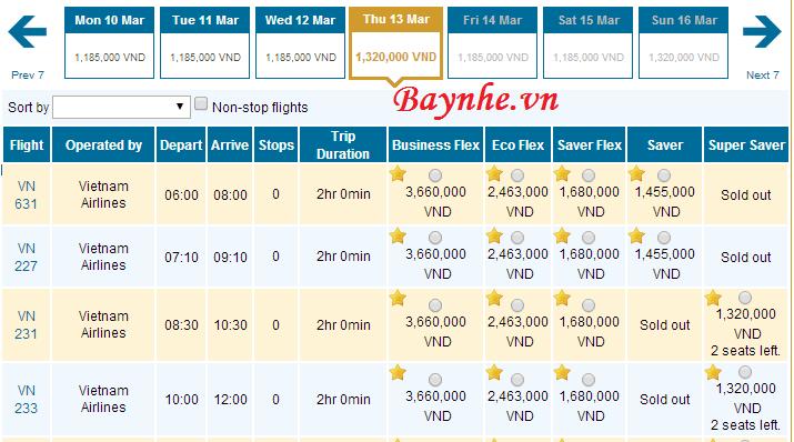 Vietnam Airlines giảm 20% giá vé và chương trình mua 1 tặng 1