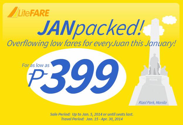 Cebu bán vé siêu rẻ