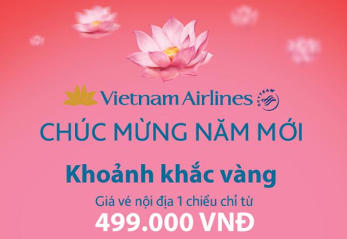 vé máy bay giá rẻ vietnam airlines Vietnam Airlines bán vé rẻ