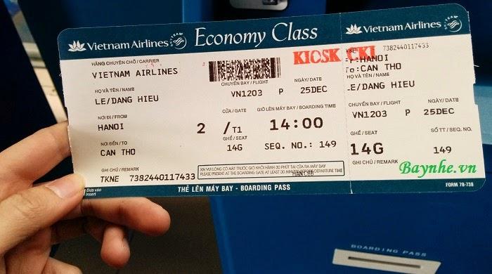 Hướng dẫn check-in tự động tại kiosk Vietnam Airlines