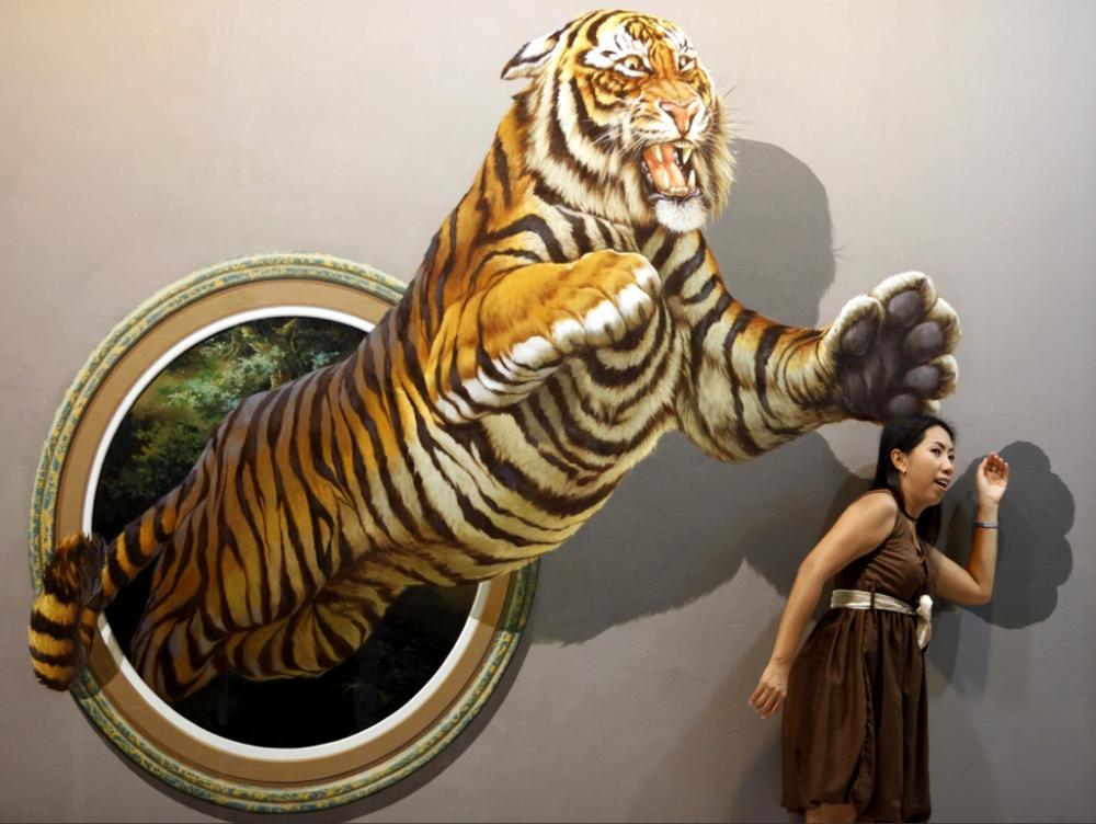 bảo tàng tranh 3D ở Pattaya