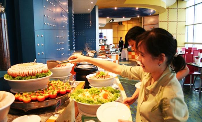 ăn tối tự chọn ở baiyoke