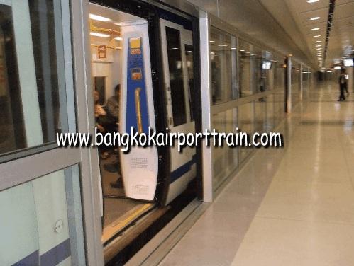 tàu điện từ sân bay Suvanarbhumi