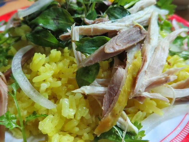 Cơm gà quán Ty đường Phan Chu Trinh, Hội An lang thang