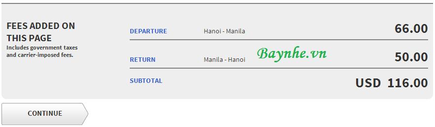 vé máy bay siêu rẻ 1 peso