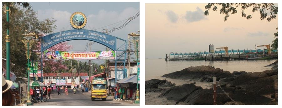 Floating market_Koh Samed Ngược xuôi Bangkok bằng phương tiện công cộng