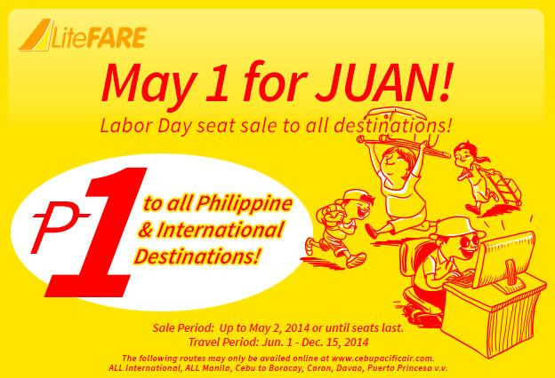 vé máy bay giá rẻ cebu pacific vé rẻ 1 peso