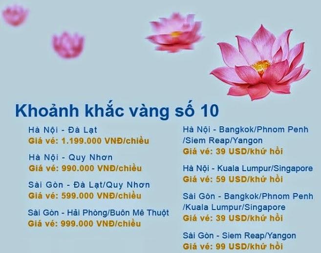 Vietnam Airlines mở bán vé máy bay giá rẻ 599.000 đồng