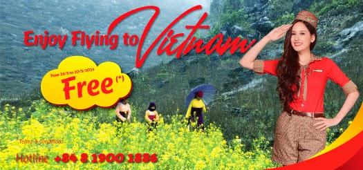 VietJetAir tung 6.600 vé máy bay đi Singapore giá 0 đồng