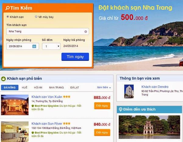 [DEAL] Trang bestprice.vn giảm 10% đặt phòng khách sạn