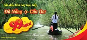 VietJetAir tung 2.500 vé máy bay Đà Nẵng – Cần Thơ giá 99.000 đồng