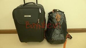 Mẹo xách hành lý quá cân khi đi máy bay