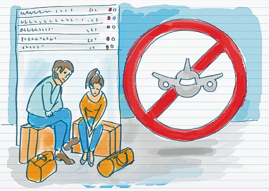 Tổng hợp tình hình huỷ chuyến các chặng bay quốc tế
