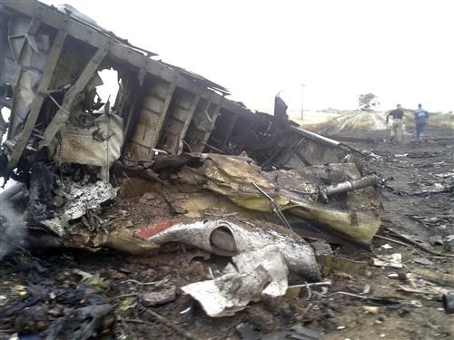 Máy bay Malaysia Airlines bị bắn rơi ở Ukraina