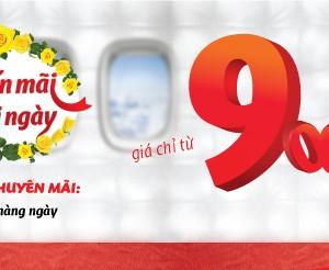 VietJetAir tung vé rẻ mỗi ngày giá chỉ từ 9.000 đồng (cập nhật 27/10) – Đã mở chatbox