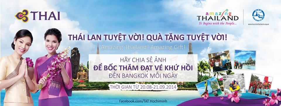 [DEAL] Mách bạn 2 cơ hội đi du lịch Thái Lan miễn phí