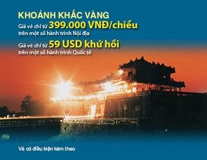 Vietnam Airlines mở bán vé giá rẻ 399.000 đồng