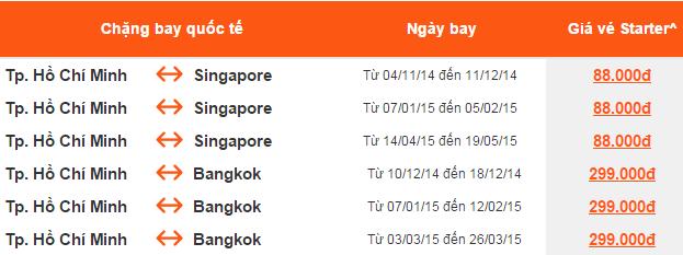 Vé Singapore giá 88k, vé nội địa ngon tháng 11