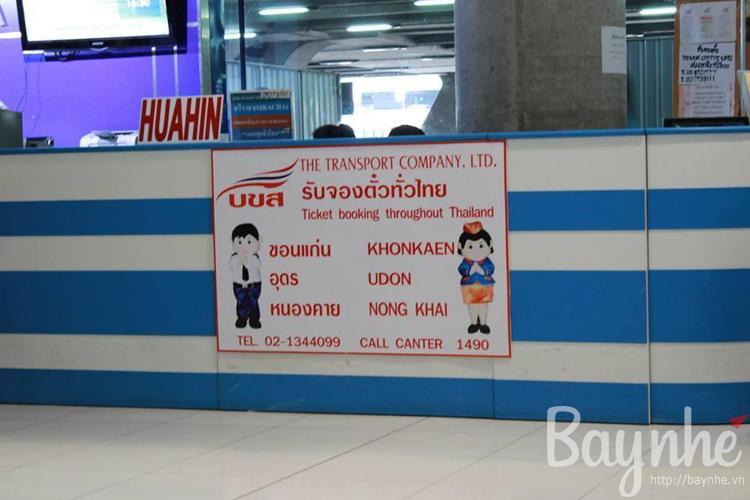 Các bạn có thể bắt xe đi Pattaya ở đây nha.