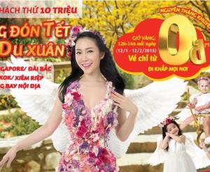 Săn vé máy bay giá rẻ 0 đồng của VietJetAir (update: 28-1, có chatbox)