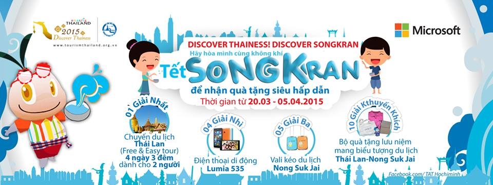 """TAT Songkran Tham gia cuộc thi """"Discover Thainess! Discover Songkran"""""""