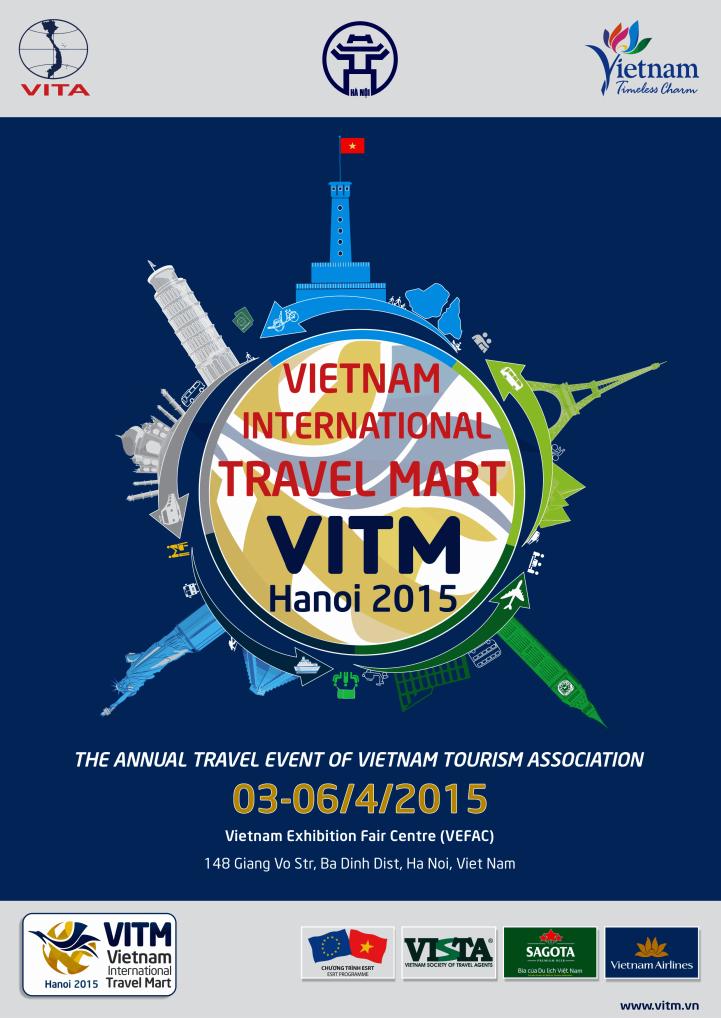 VITM 2015 Săn vé giá rẻ tại Hội chợ du lịch quốc tế VITM 2015