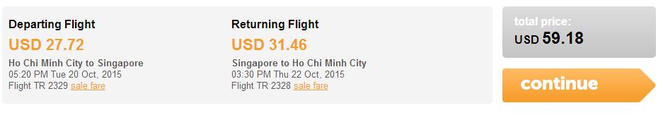bay Singapore vé giá siêu rẻ