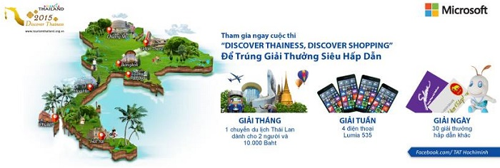 Tham gia cuộc thi Discover Thainess! Discover Shopping để nhận thưởng mỗi ngày