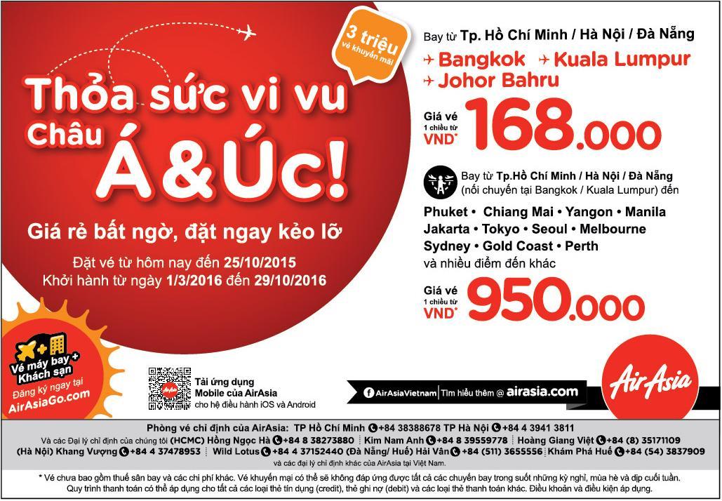 airasia-3-trieu-ve-may-bay-gia-re vé rẻ