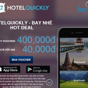 [DEAL] Mua voucher siêu khủng của Hotel Quickly, nhanh tay kẻo hết