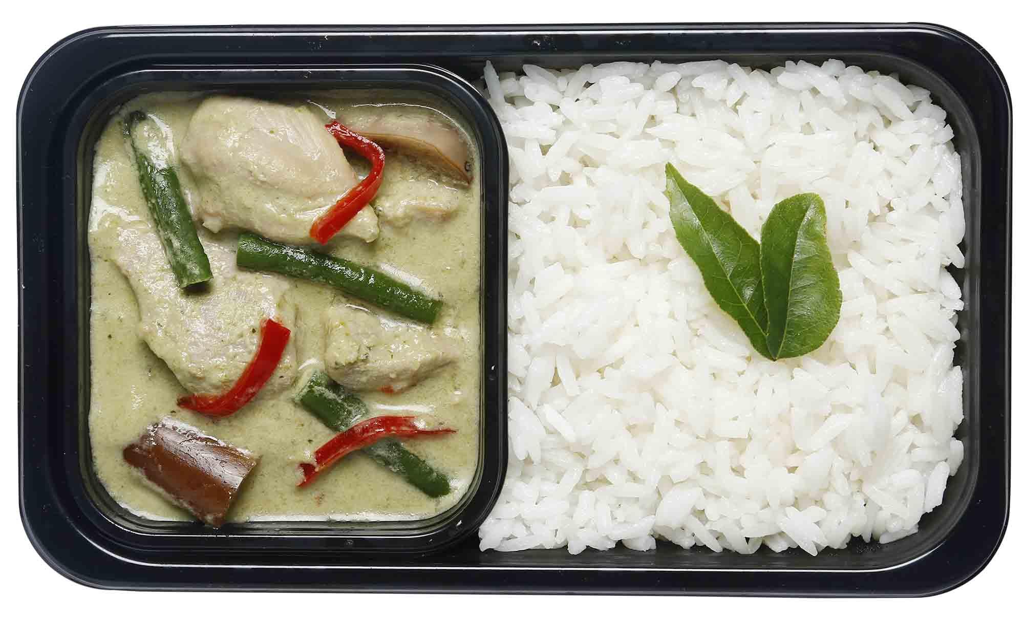 Các Món Ăn Trong Menu Santan Mới Của Airasia