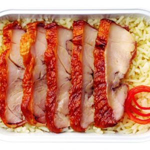 Ngon mắt đồ ăn trong menu Santan mới của AirAsia